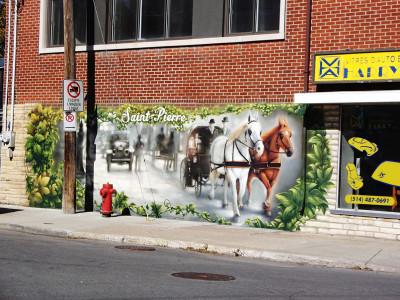 Murale Rue St-Jacques